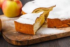 Setor pequeno cortado da torta do maná, conceito analítico da carta de torta imagem de stock royalty free