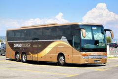 Setra s416gt-HD Royalty-vrije Stock Fotografie