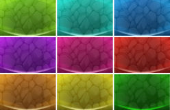 Sets of backgrounds Stock Images
