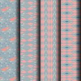 Sets Blue abstract motifs. Can be used endlessly Stock Photography