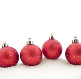 Sets Christmas-tree decorations Stock Photo