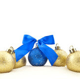 Sets Christmas-tree decorations Royalty Free Stock Image