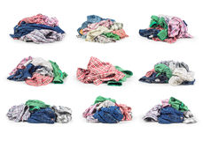 Sets of clothes Royalty Free Stock Photography
