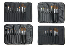 Sets Of Cosmetic Brushes Stock Image