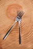 Sets of forks Stock Images