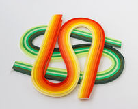 Sets paper for quilling Royalty Free Stock Photo