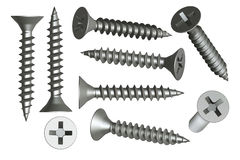 Setscrews Obraz Royalty Free