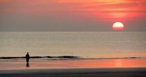 Setsell plaża Fotografia Royalty Free