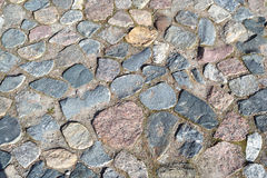 Sett stones pattern Royalty Free Stock Photo