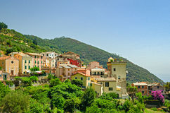 Setta (Framura), Cinque Terre, Italy Royalty Free Stock Photos