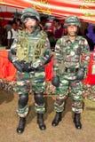 settantottesimo Celebrazioni malesi 2011 di anniversario dell'esercito Fotografie Stock