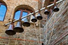 Sette campane fotografia stock libera da diritti