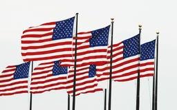 Sette fatiche americane al pilastro di Windy City Fotografia Stock Libera da Diritti