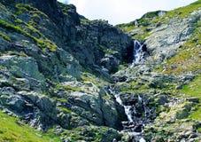 Sette laghi di rila oscillano il concetto fresco del realx della molla di stagione di panorama del fondo Fotografia Stock Libera da Diritti