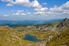 Sette laghi Rila Fotografia Stock Libera da Diritti