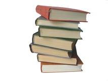 Sette libri Fotografie Stock