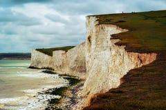 Sette sorelle Regno Unito fotografia stock libera da diritti
