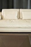 Settee and table Royalty Free Stock Photo