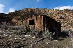 Settelers Cabin: 9 Mile Canyon Stock Photo
