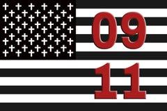 11 settembre Fotografia Stock Libera da Diritti