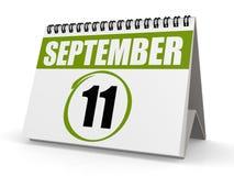 11 settembre giorno del patriota Fotografia Stock Libera da Diritti