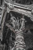 14 settembre 2014 Il tempio vero è un completel unico del tempio Fotografia Stock Libera da Diritti