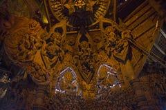 14 settembre 2014 Il tempio vero è un completel unico del tempio Immagine Stock Libera da Diritti