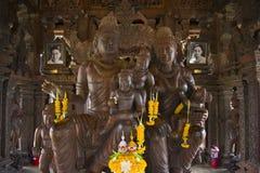 14 settembre 2014 Il tempio vero è un completel unico del tempio Fotografie Stock