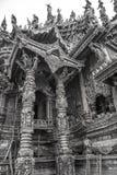 14 settembre 2014 Il tempio vero è un completel unico del tempio Fotografia Stock