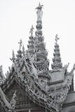 14 settembre 2014 Il tempio vero è un completel unico del tempio Immagini Stock Libere da Diritti