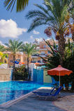 6 settembre 2016, Iris Village complessa residenziale, Pafos, Cypr Immagine Stock
