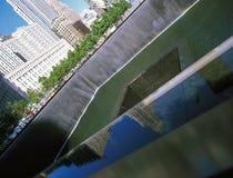 11 settembre memoriale Immagine Stock