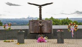 11 settembre 2001 memoriale immagine stock