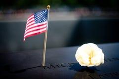 11 settembre memoriale Fotografia Stock