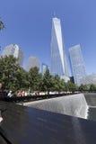 11 settembre memoriale - New York, U.S.A. Fotografia Stock Libera da Diritti