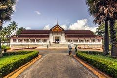 20 settembre 2014: Palazzo reale di Luang Prabang, Laos immagine stock libera da diritti