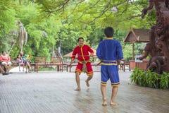 14 settembre 2014 Prestazione tradizionale degli attori in Fotografia Stock