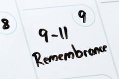 11 settembre remebrance Immagine Stock