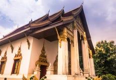 26 settembre 2014: Tempio buddista a Vientiane, Laos Immagini Stock