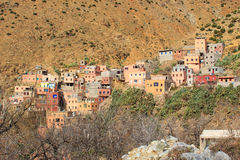 Setti Fatma - Village in Atlas moutains Morocco Royalty Free Stock Images