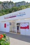 Settimana 2018, Capri, Italia di navigazione di Rolex Capri Fotografia Stock Libera da Diritti