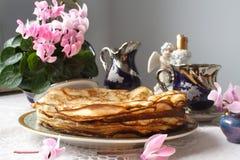 Settimana del pancake Fotografia Stock Libera da Diritti