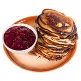 Settimana del pancake Immagini Stock Libere da Diritti