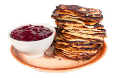 Settimana del pancake Immagine Stock