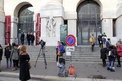 Settimana di modo di Milano Fotografia Stock Libera da Diritti