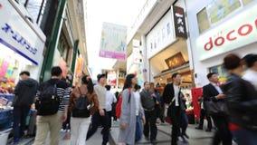Settimana di Osaka Golden stock footage