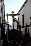 Settimana santa a Carmona 14 Fotografia Stock Libera da Diritti
