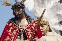 Settimana santa in Siviglia, fratellanza di San Esteban Immagini Stock