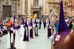 Settimana santa in Spagna Fotografia Stock Libera da Diritti