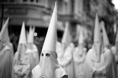 Settimana santa in Spagna immagine stock